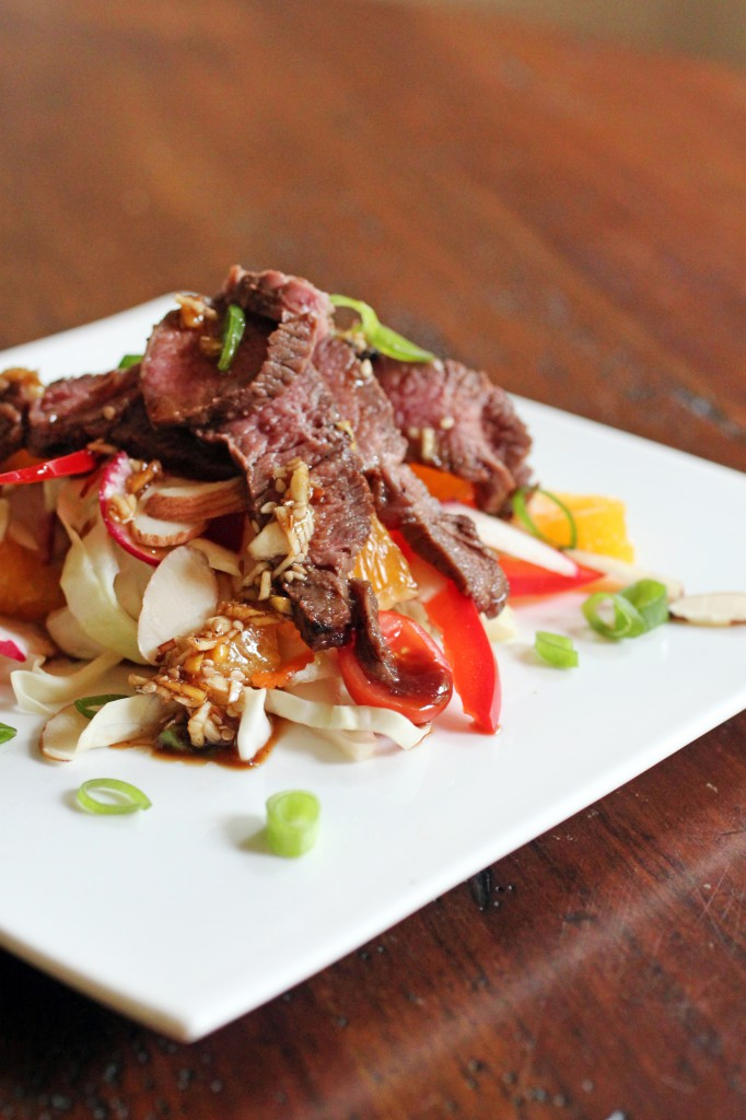 Asian Steak Salad Recipe