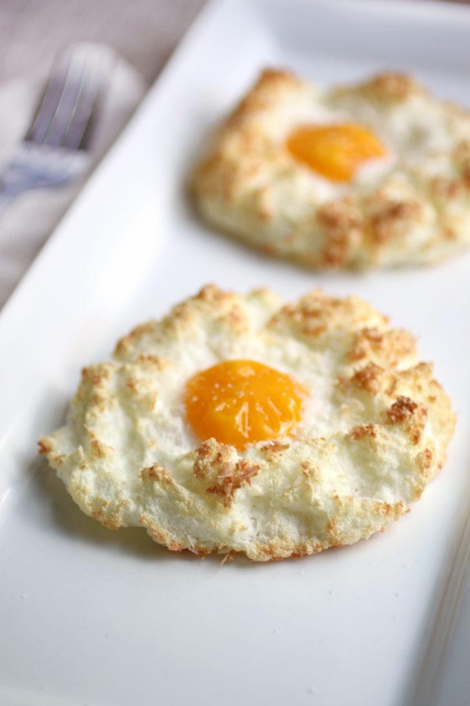 Coconut-Nested Eggs Recipe