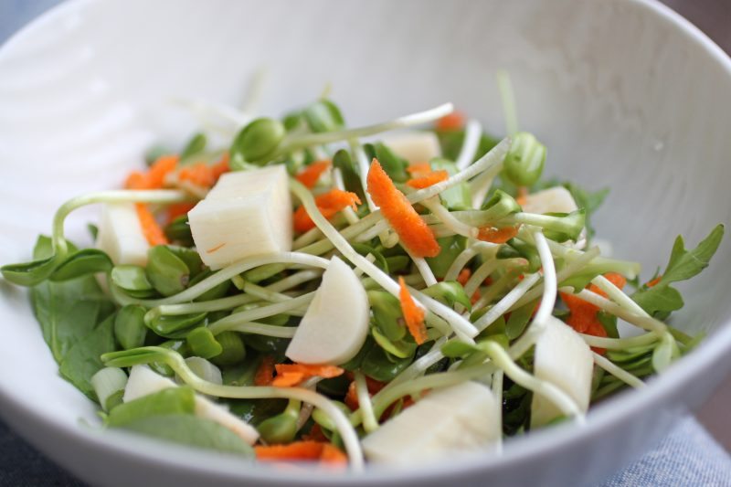 Sunflower Sprout Salad Recipe