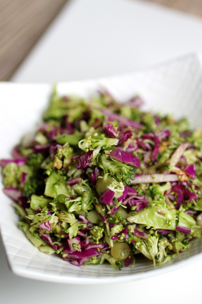 Asian Broccoli Slaw Recipe