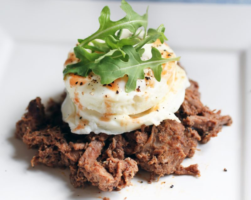 Slow-Cooked Steak and Eggs Recipe