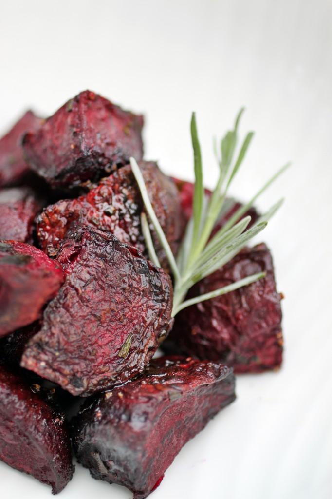Roasted Rosemary Beets Recipe