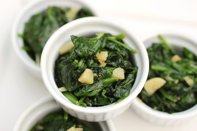 Sautéed Spinach Recipe