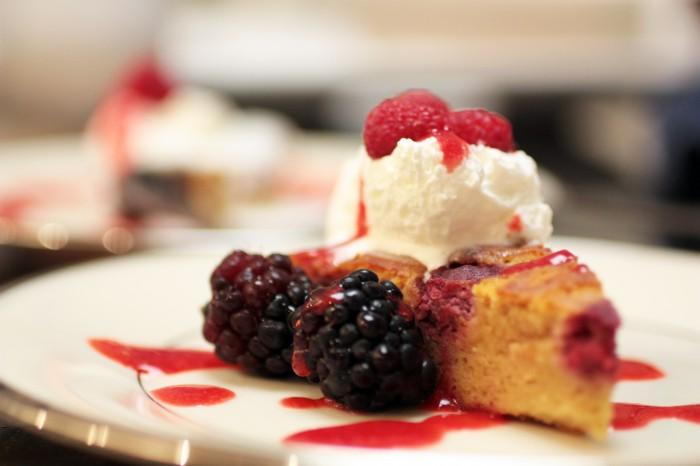 Paleo Raspberry Torte