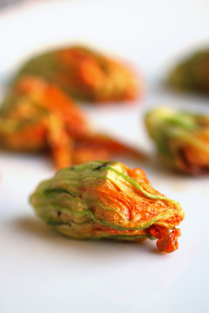 Shrimp and Bacon Squash Blossoms Recipe