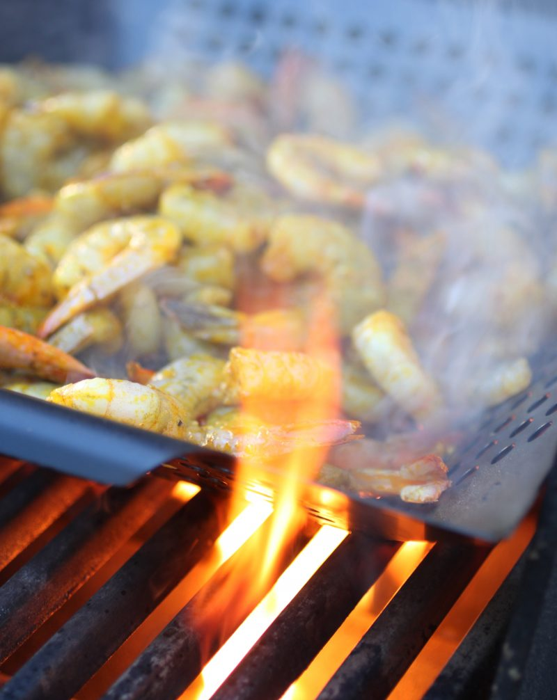 Grilled Curry Shrimp Recipe