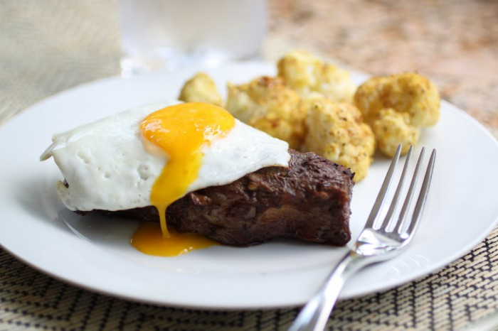 Coffee Marinated Flat Iron Steaks Recipe