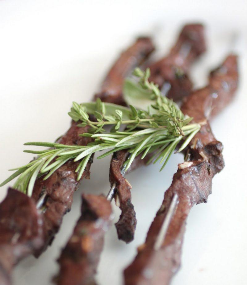 Beef Heart Skewers Recipe