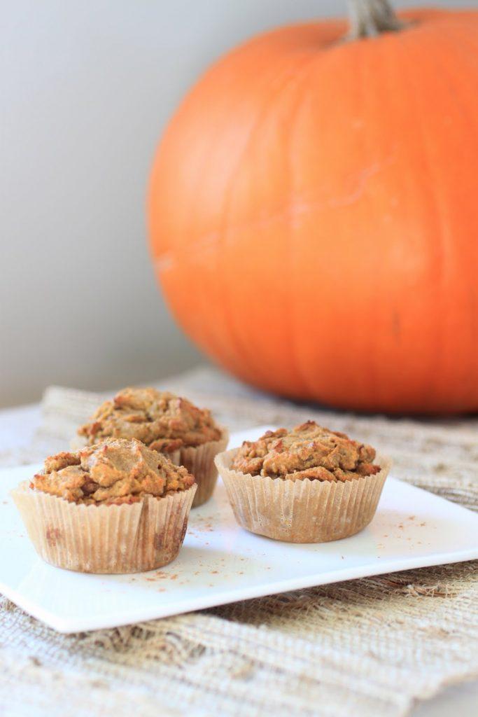 Pumpkin and Pecan Muffins Recipe