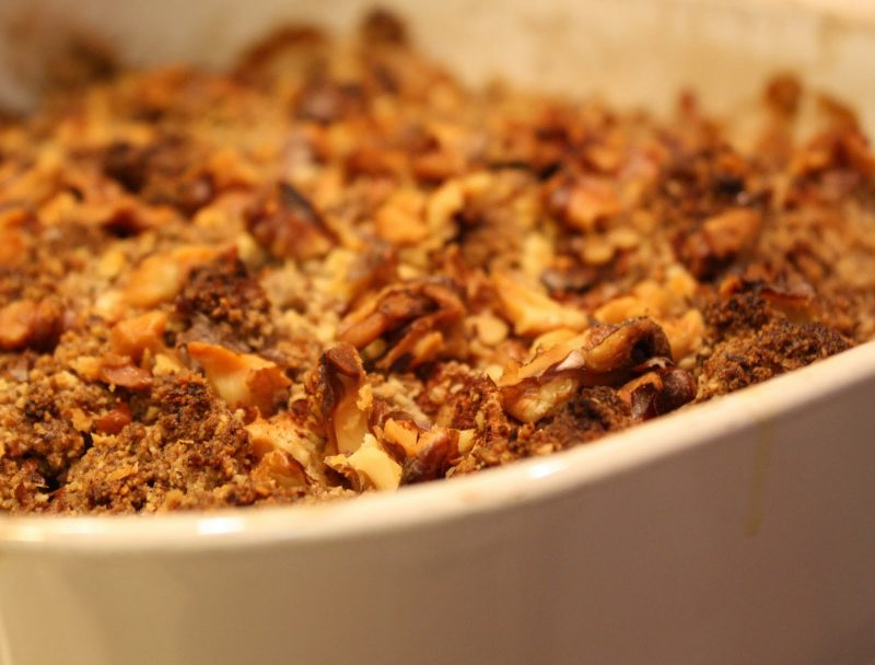 Nellie's Apple Crisp Recipe