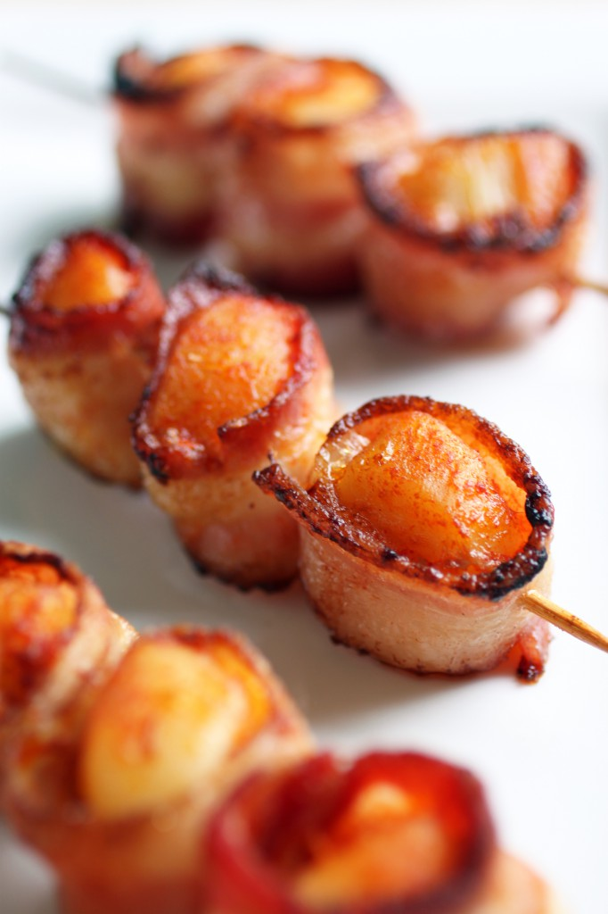 Bacon-Wrapped Scallops Recipe
