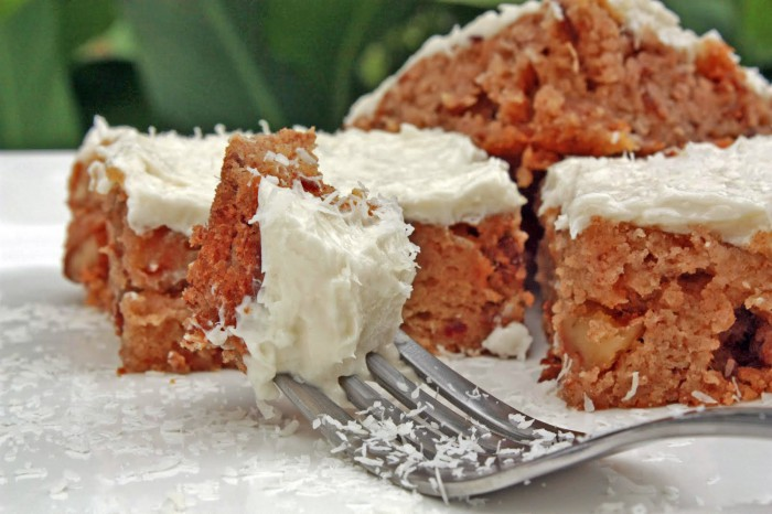 Coconut Butter Blondies Recipe