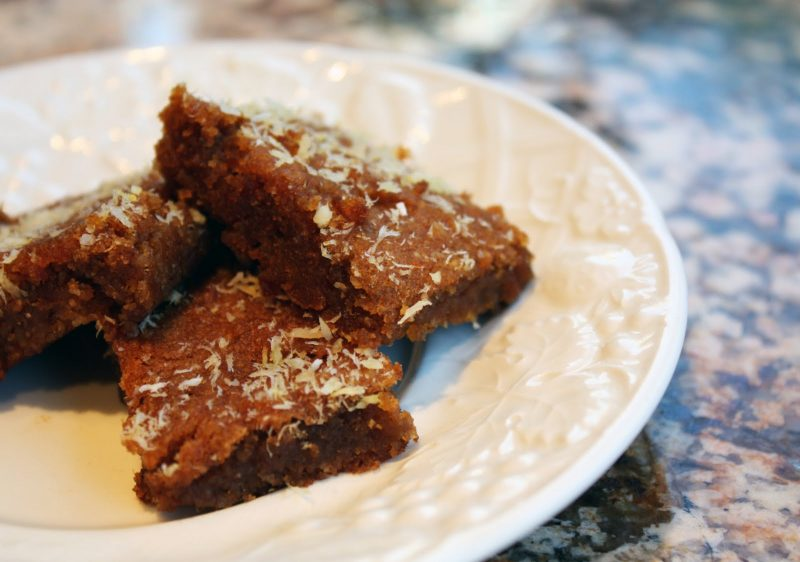 Pumpkin Spice Squares with Toasted Coconut Recipe