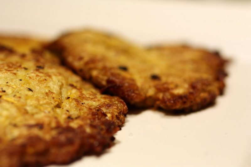 Yellow Squash Latkes Recipe