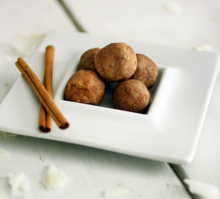 Cinnamon Coconut Butter Truffles Recipe
