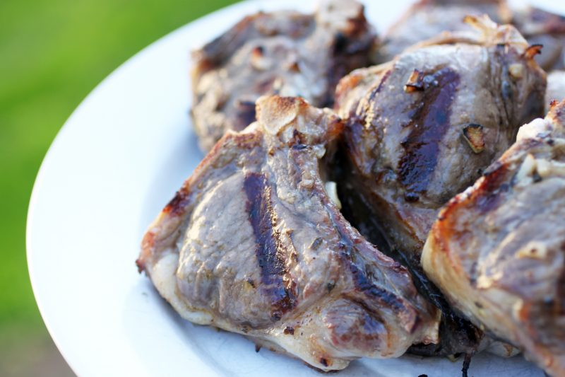 Grilled Lamb Chops Recipe