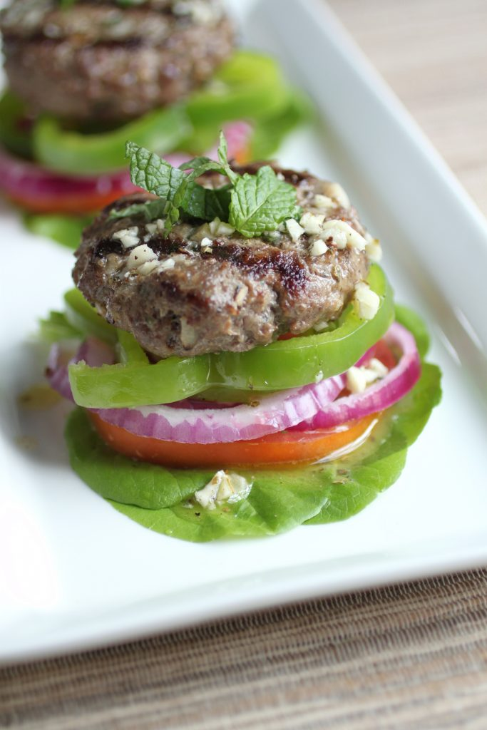 Mint Lamburgers Recipe