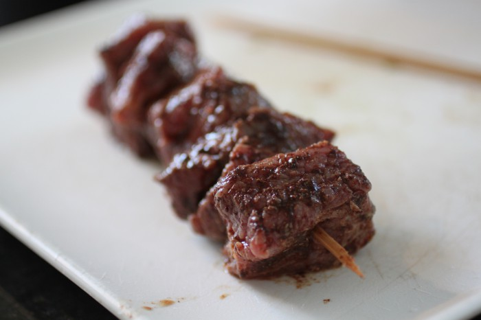 Cinnamon Steak Skewers Recipe