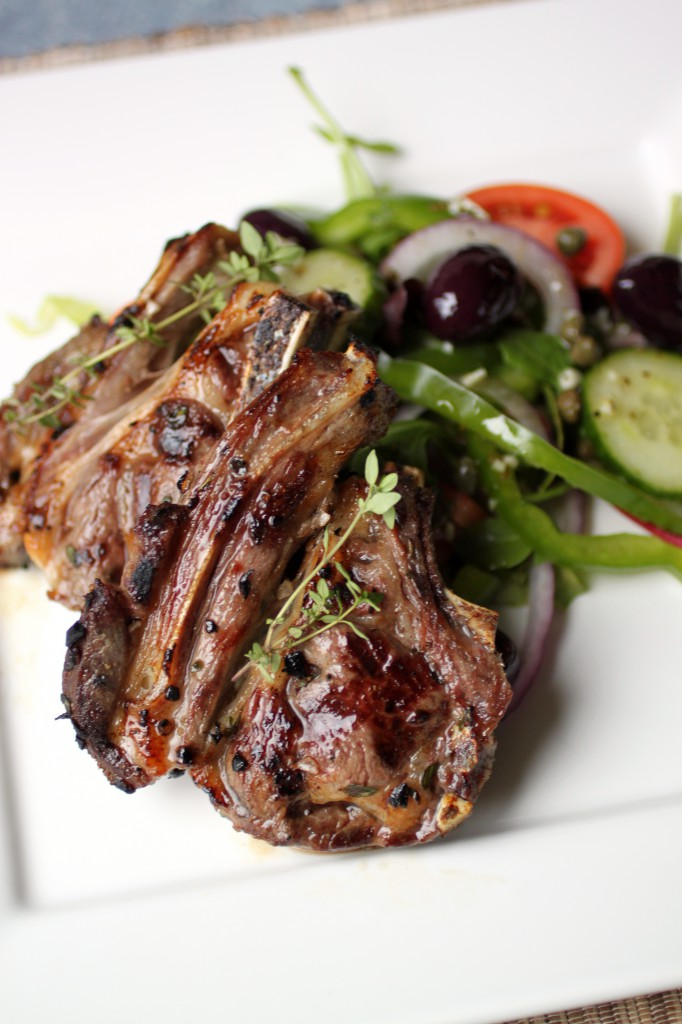 Lemon Thyme Lamb Chops Recipe