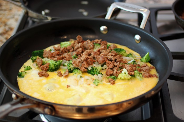 Kitchen Sink Omelet Recipe