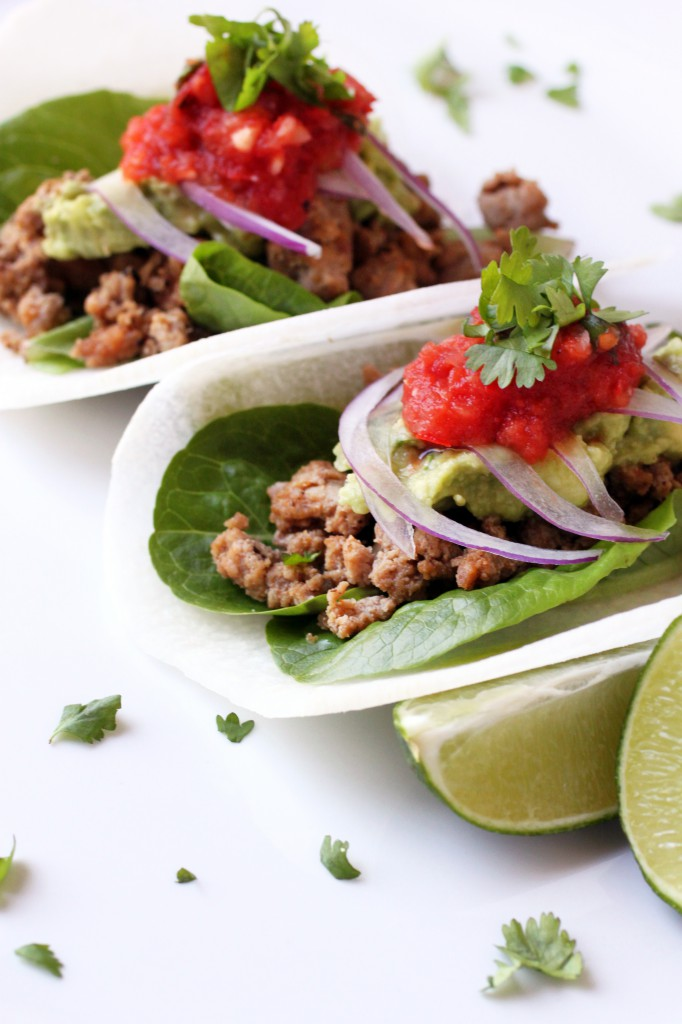 Tacos with Jicama Shells Recipe