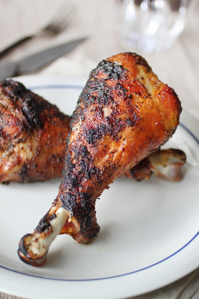 Grilled Turkey Drumsticks Recipe