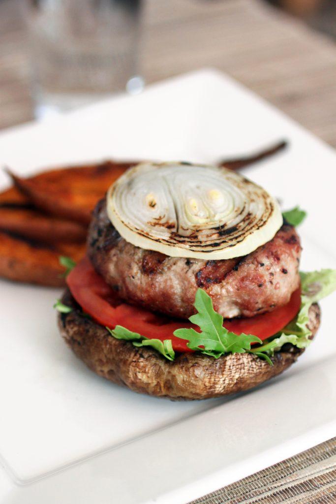 Portobello Turkey Burger Recipe