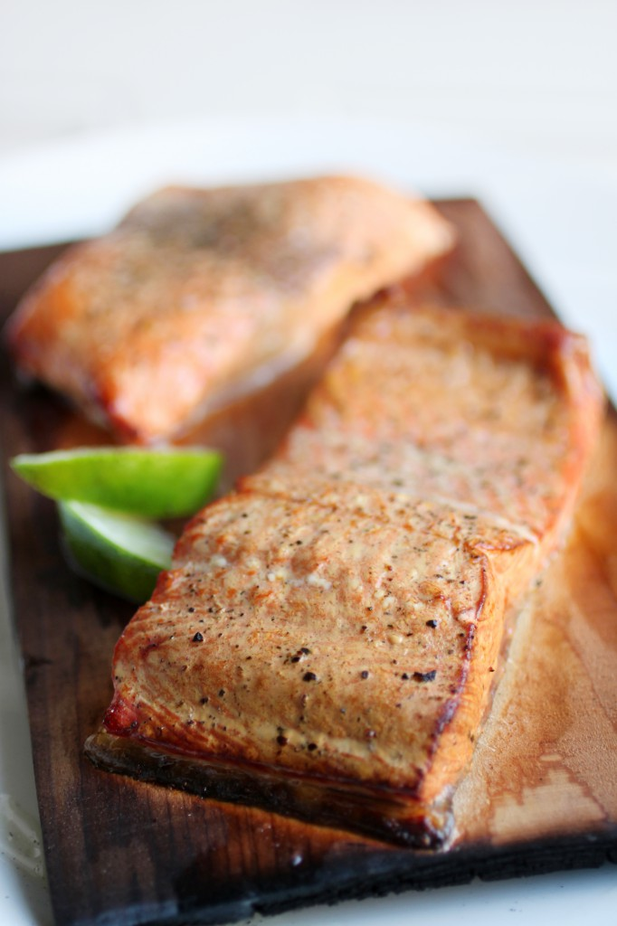 Cedar Plank Salmon with Lime Recipe