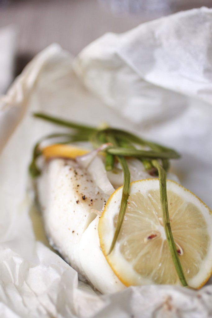 Halibut en Papillote Recipe