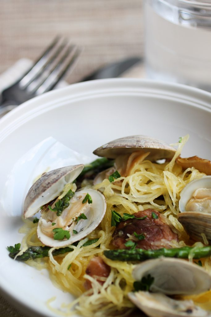 """Linguine"" with Clams Recipe"