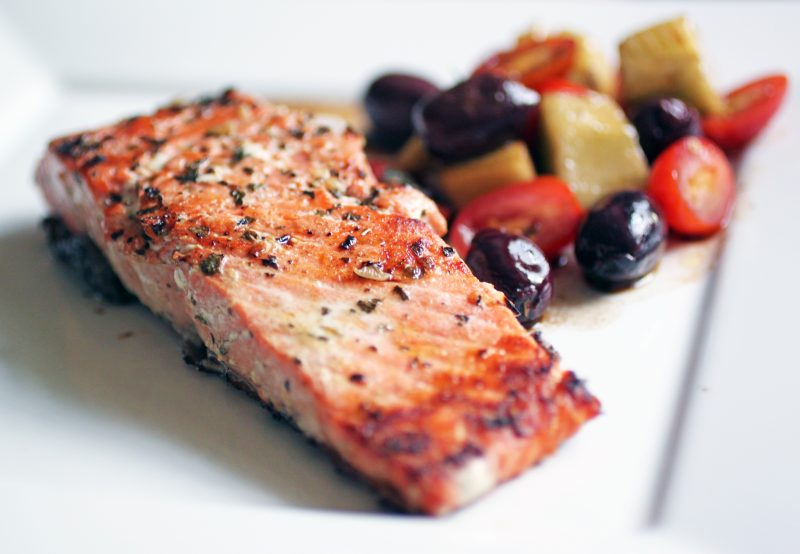 Simply Grilled Salmon Recipe
