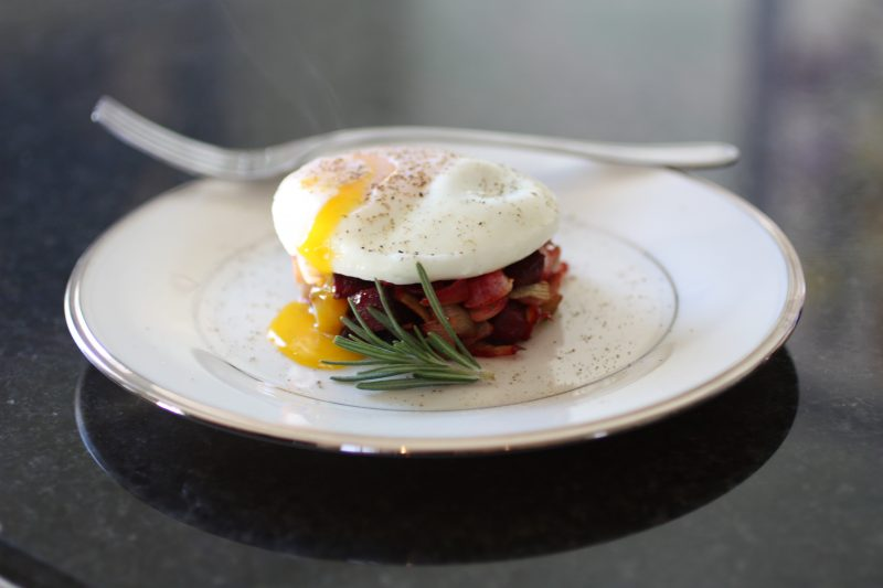 Root Vegetable Hash & Poached Egg Recipe