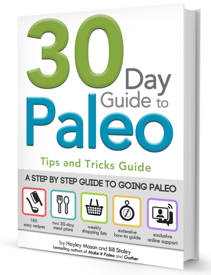 30 Day Paleo Meal Plan Ebook Cover
