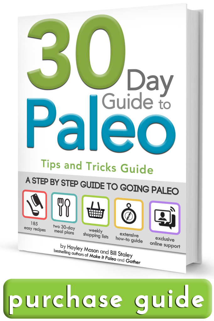 The 30 Day Guide to the Paleo Diet Meal Plan