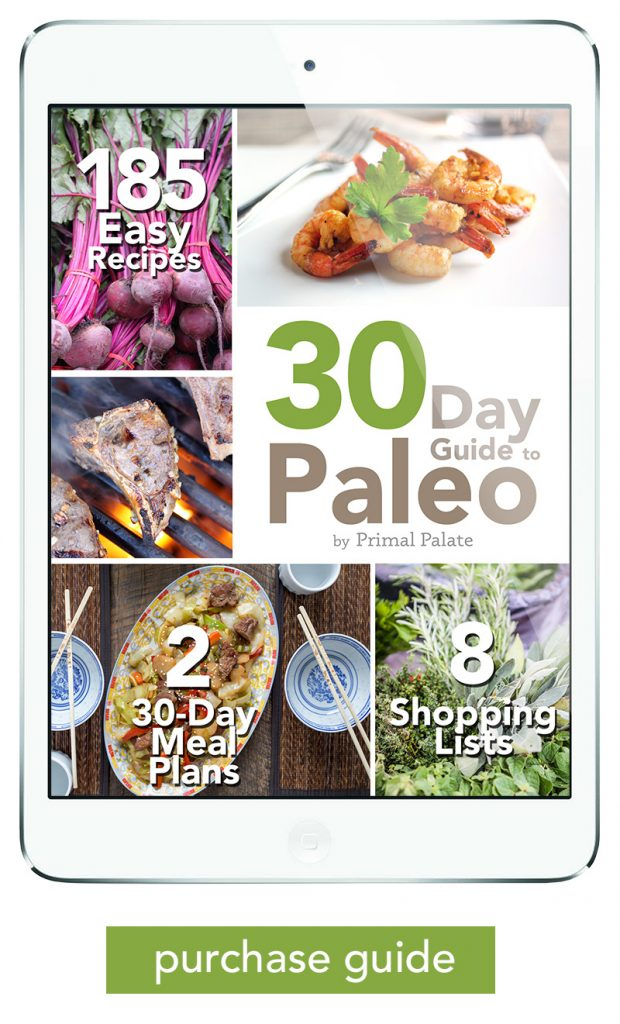 Meal Plans | 30 Day Guide To Paleo Meal Plan Primal Palate Paleo Recipes