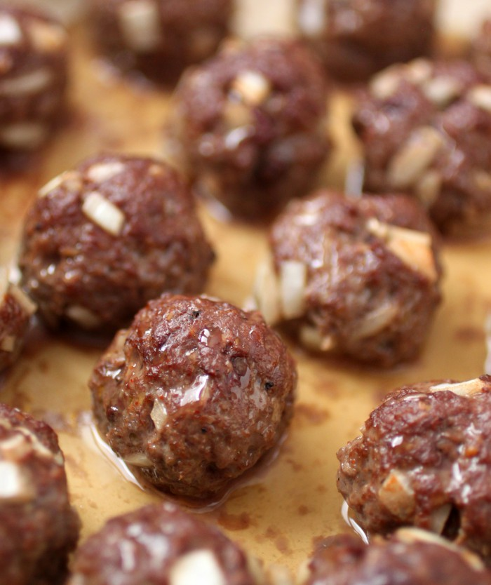 Beef Liver and Onion Meatballs Recipe