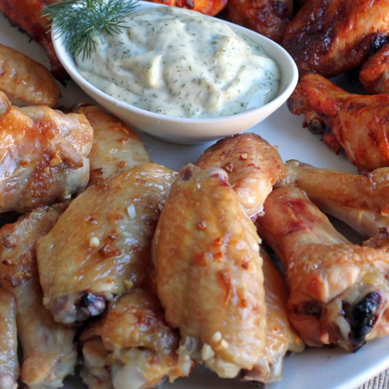 Butter Garlic Wings Recipe