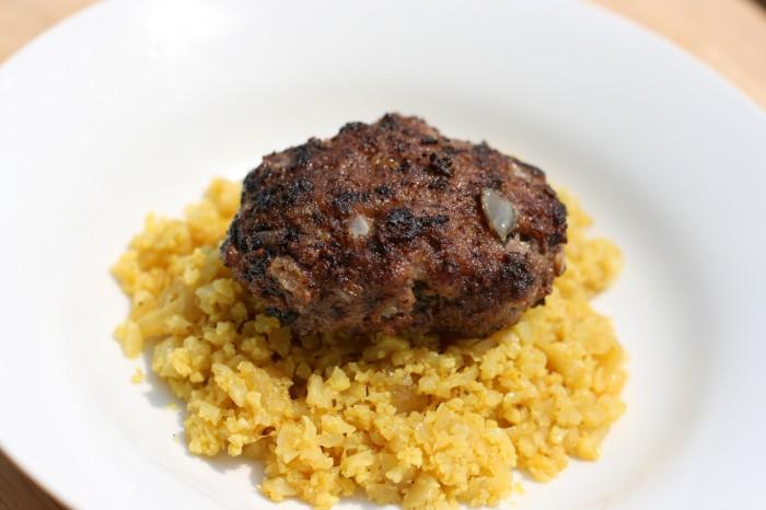 Kotlete Kubideh (Persian Hamburgers) Recipe