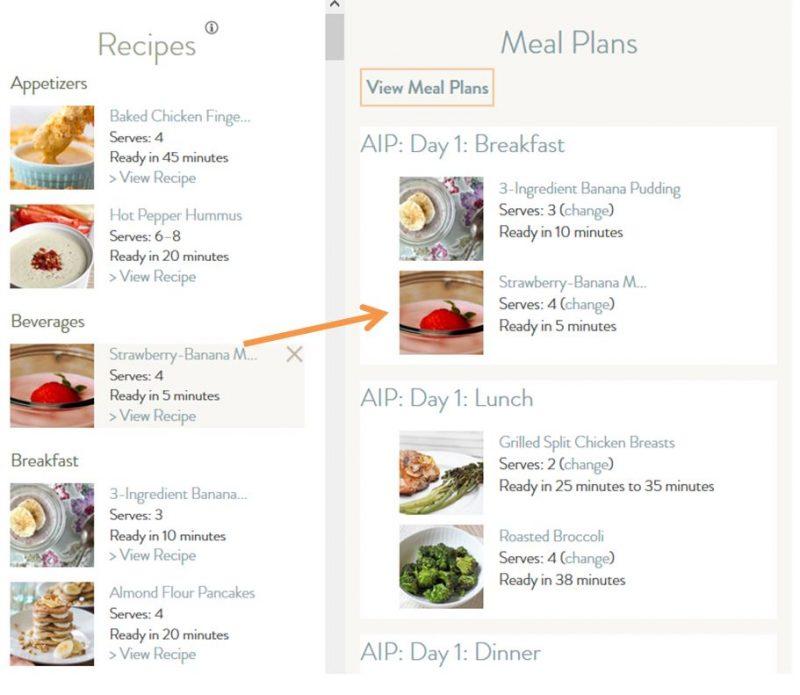 recipe_to_mealplan