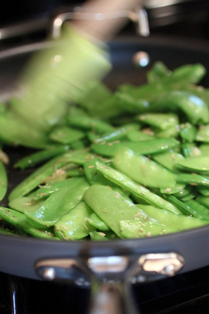 Garden Peas Recipe