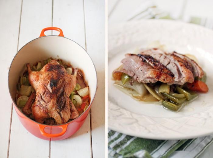 paleo orange duck recipe