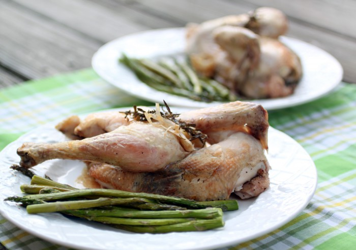 Petite Roast Chicken Recipe