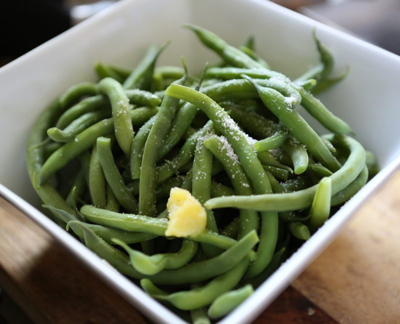Garden Green Beans with Truffle Salt Recipe