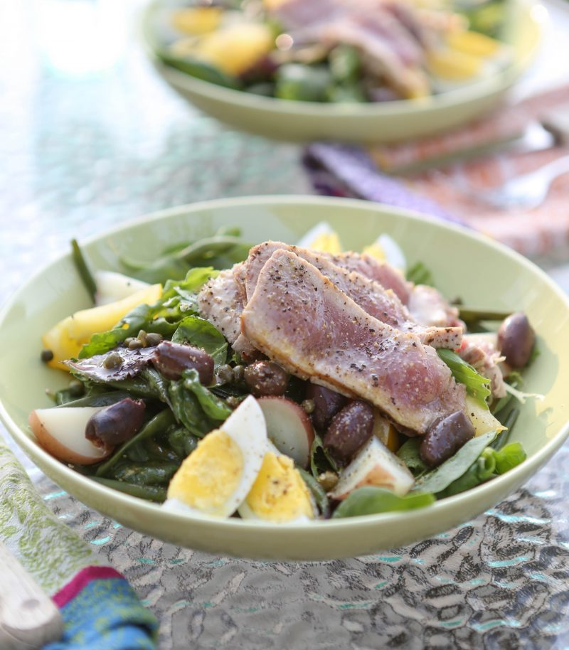 Grilled Ahi Niçoise Salad Recipe