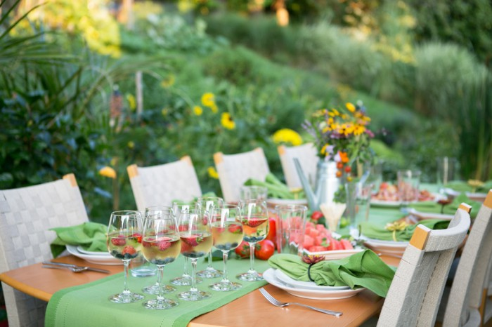 Garden Party Dinner