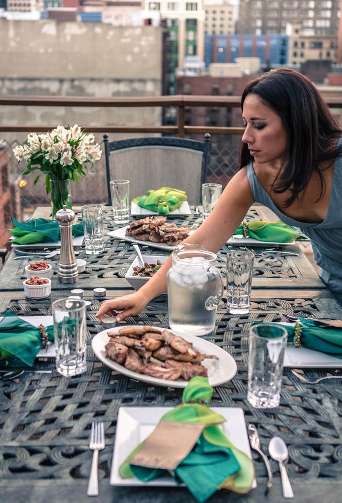 Paleo Rooftop Dinner