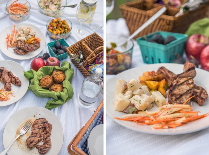 Backyard Paleo Picnic Shoot