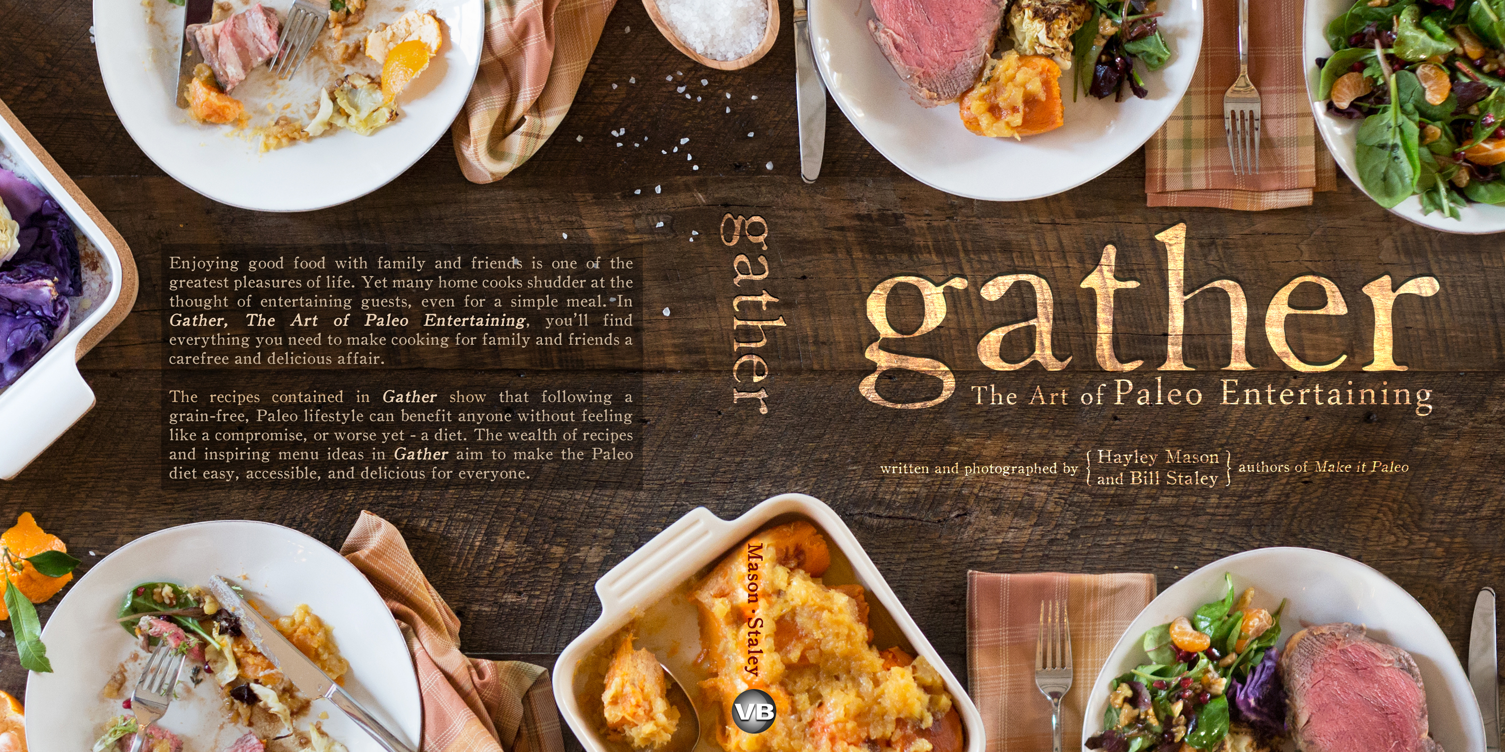 Cover Of A Cookbook : Gather introducing the official cover primal palate