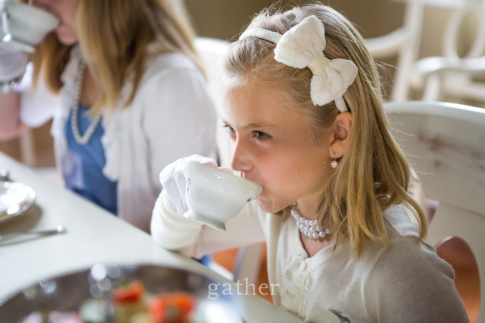 little girls tea party 2