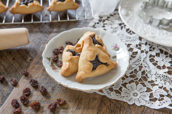 Hamantaschen cookie for purim